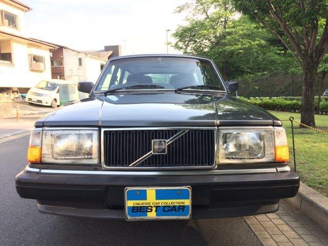 ボルボ 240ワゴンガンメタ'89 画像3