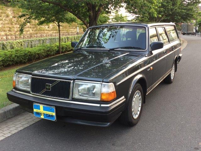 ボルボ 240ワゴンガンメタ'89スモールウインドウ