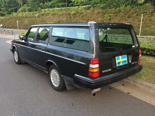ボルボ 240ワゴンガンメタ'89 画像2
