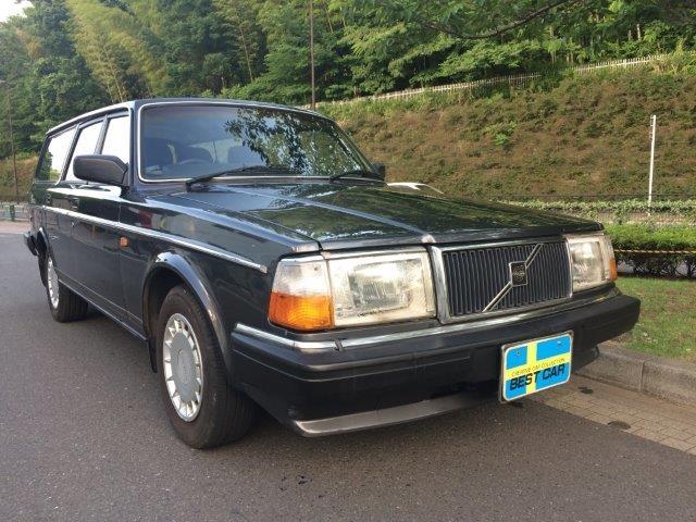 ボルボ 240ワゴンガンメタ'89 画像07