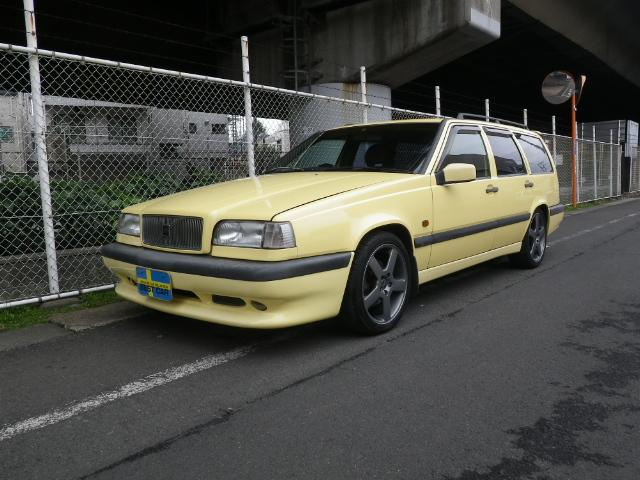 ボルボ 850T-5Rクリームイエロー