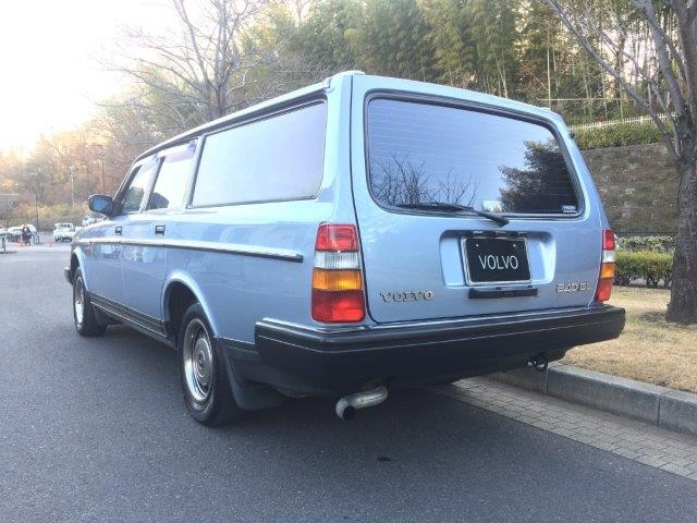 ボルボ240エステートライトブルー'89程度良い 画像08