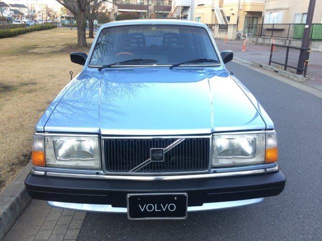 ボルボ240エステートライトブルー'89程度良い 画像3