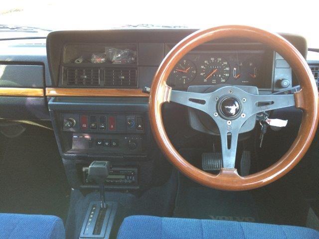 ボルボ240エステートライトブルー'89程度良い 画像09
