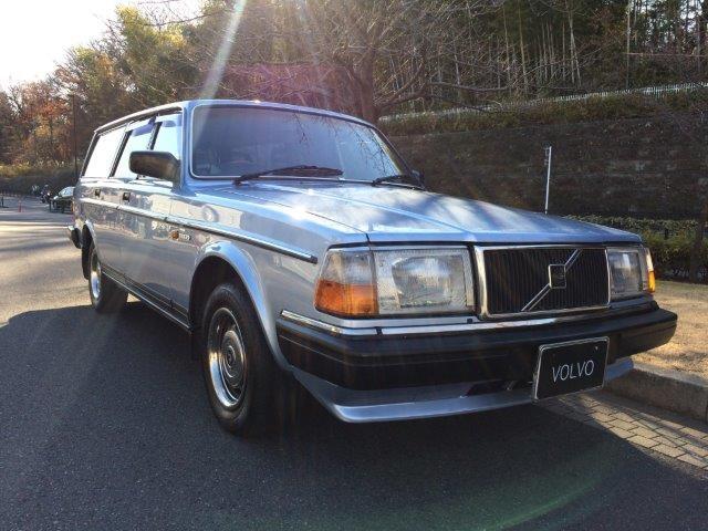 ボルボ240エステートライトブルー'89程度良い 画像07