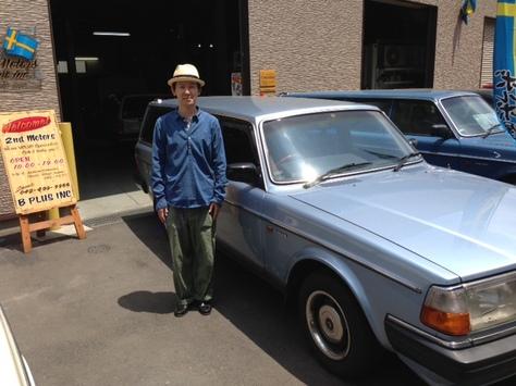 ボルボ 240GL ワゴン 89年モデルの画像