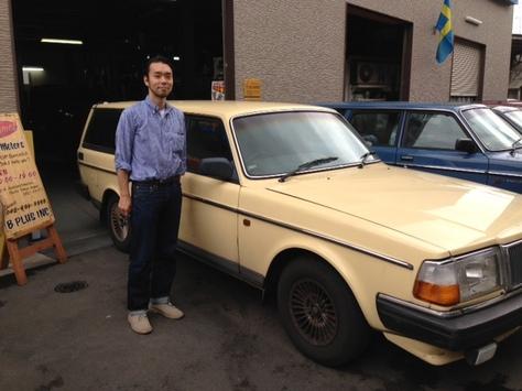 ボルボ 240GL ワゴン 90年モデルの画像