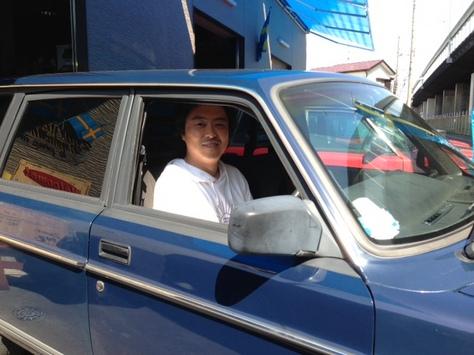 ボルボ 240GLワゴン 91年の画像