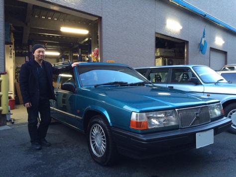 ボルボ 940ポラールエステート 95年モデルの画像